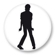 Pin Button Badge Ø38mm Music Musique Michael Jackson King of Pop MJ Bad