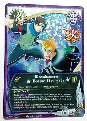 Naruto Fan Prism Foil Custom Card Game CCG Rock Lee Set TP5 1790