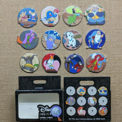 Disney Disguises Mystery Reveal Conceal Pin Box Set 2019 Limited Edition LE 1000