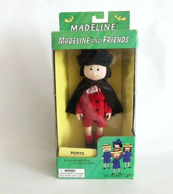 Madeline and Friends Pepito Poseable Doll by Eden 1998