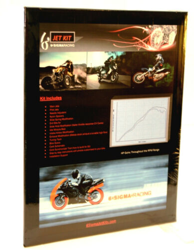 Yamaha WR250F WRF250 269 270 284 290 310 cc Big Bore Stroker Carb Stg1-3 Jet Kit