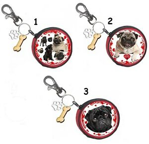 Training & Gehorsamkeit Hunde ZuverläSsig Mops Pug Münze Geldbörse Coin Purse Oder Snackbeutel Or Treat Bag