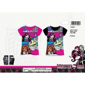 t-shirt-enfant-Monster-High-100-coton-Tee-shirt-fille-Monster-High