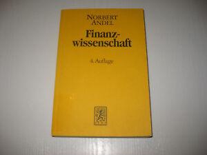 Finanzwissenschaft-von-Norbert-Andel-4-Aufl-1998
