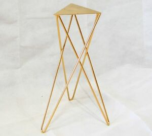 Tri-leg Steel Hairpin Legs Table