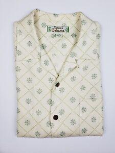 Tommy-Bahama-Hawaiian-Silk-Shirt-Mens-Size-L