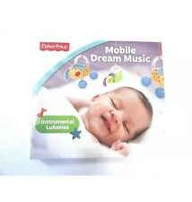 Fisher Price CD Mobile Dream Music For Baby New 2015 Instrumental 11 songs 46min