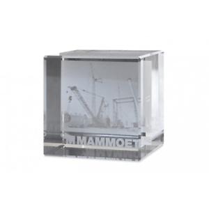 Mammoet Mammoet LR 13000 Glass Cube  NEW  Nice Collectible for Mammoet Fans