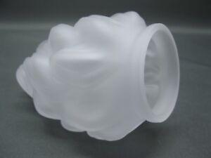 paralume-vetro-16-cm-x-diametro-12-CM-SATINATO-BIANCO-FIACCOLA-VETRO-DI-RICAMBIO