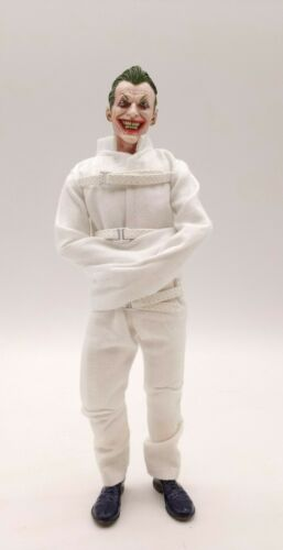 White Madhouse Constrained Clothing for Mezco Joker No Figure