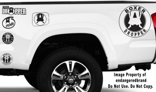 Panty Boxer Dropper Round Low Boost JDM Funny Truck Car Sticker Decal