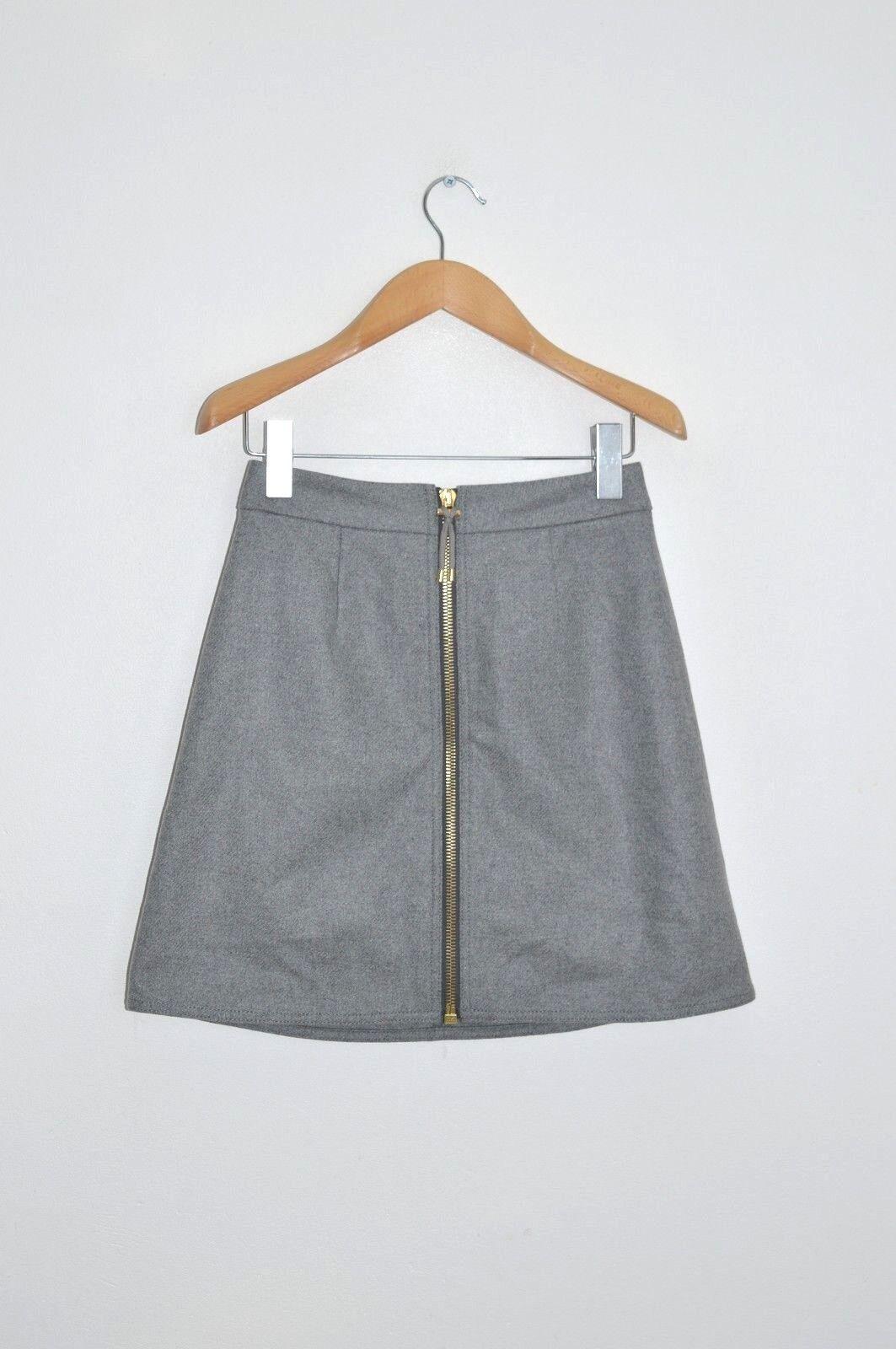 STUNNING ACNE Studios Ladies PRISCA Wool PAW16 Mini Skirt UK8 US4 EU34