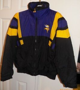 a7a9fc32e Image is loading Vintage-Minnesota-Vikings-NFL-GAME-DAY-HOODED-JACKET-