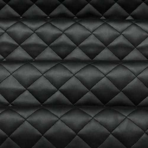 Diamond Quilted Black Faux Leather Leatherette Car Interiors Shop Designs