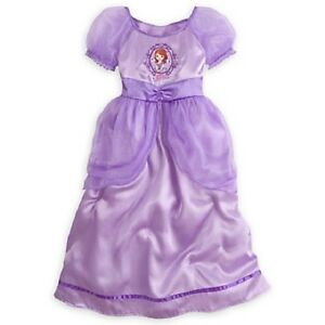 02899a4450 DELUXE~SoFiA the FiRsT~Purple~PriNceSS NIGHT GOWN~NWT~Disney Store ...