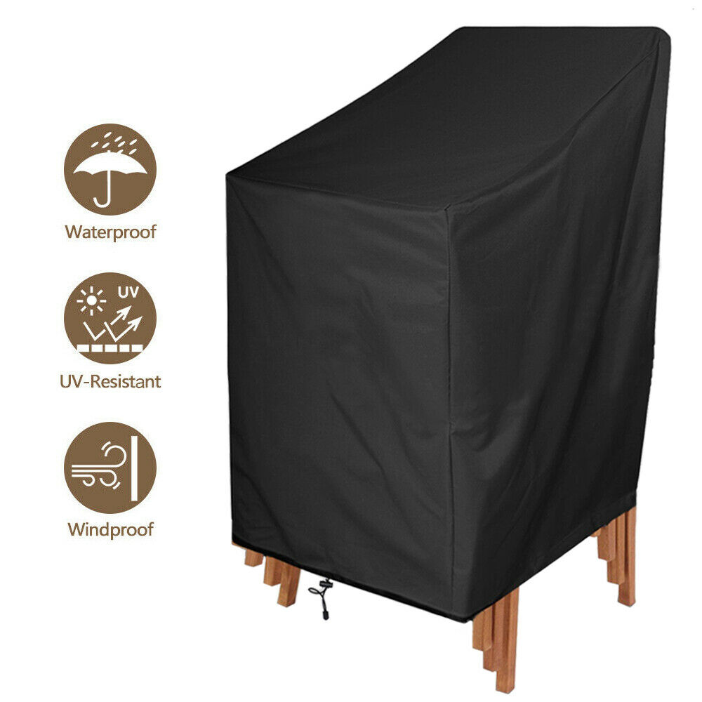 Waterproof Sofa Seat Covers Heavy Duty Garden Patio Furniture Chair Cover Outdoo
