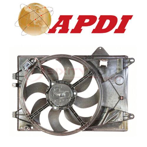 APDI Dual Radiator /& Condenser Fan Assembly for 2012-2015 Chevrolet Sonic jg