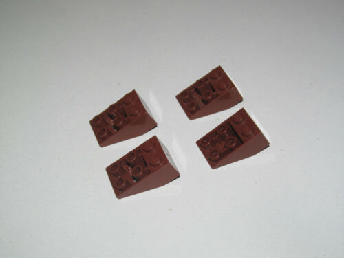 Lego ® Lot Brique Penchée Slope Brick Inverted 2x3 Choose Color 3747
