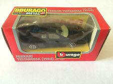 BBURAGO BURAGO FERRARI TESTAROSSA  COD. 4157 ANNEE 1983 ECHELLE 1/43 EN BOITE