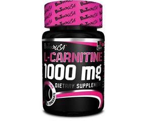 BioTech-USA-L-CARNITINE-1000mg-30-Tabs-Strong-Fat-Burner-Weight-Loss-Slimming
