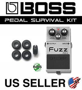 BOSS-GROMMET-FZ-3-FUZZ-SURVIVAL-KIT-GUITAR-PEDAL-BUSHING-RUBBER-O-RING-SET-OF-5