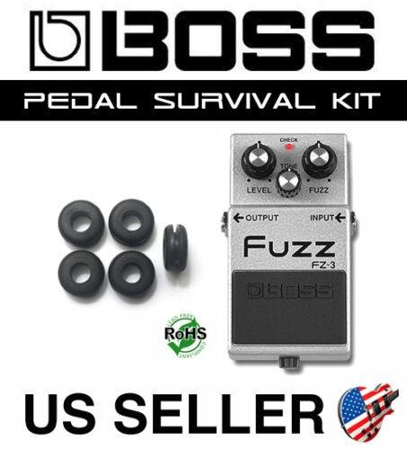 BOSS GROMMET FZ-3 FUZZ SURVIVAL KIT GUITAR PEDAL BUSHING RUBBER O-RING SET OF 5