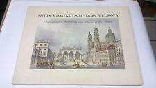 rs-28217-b-3 mit der Postkutsche durch Europa - Kunstdruck Städtebilder 66 Stück