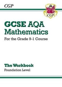 New-GCSE-Maths-AQA-Workbook-Foundation-for-the-Grade-9-1-Course-By-CGP-Books
