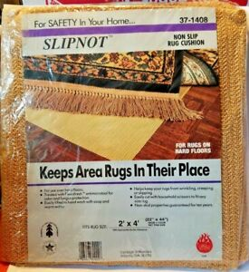 Details about Vantage SlipNot Non Slip Rug Cushion For Hardwood Floors 2' X  4'