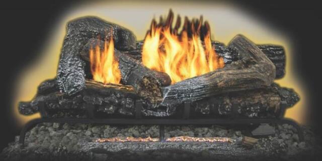 Kozy World Vent Free Gas Log Set