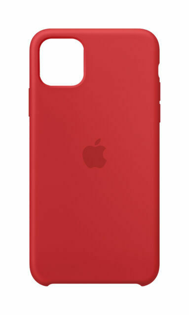 Apple Silicone Cover per Apple iPhone 11 Pro Max - (PRODUCT)RED