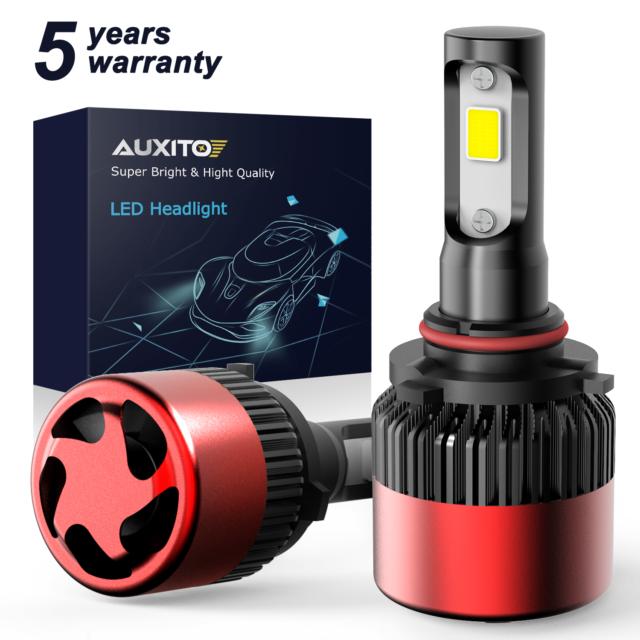 AUXITO 9006 Headlight Kit 16000LM LED COB White Low Beam Bulb For Toyota Corolla