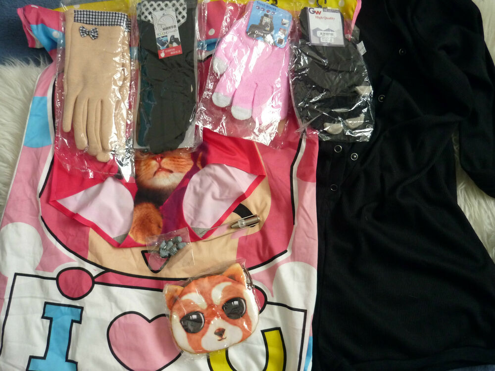 Femme Job Lot Bundle Nightwear Gants Sac à Main Pince à épiler Pantalon Neuf Tag Body