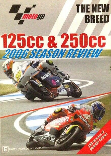 MotoGP - 125cc & 250cc 2006 Season Review (DVD, 2006) *NEW & SEALED*