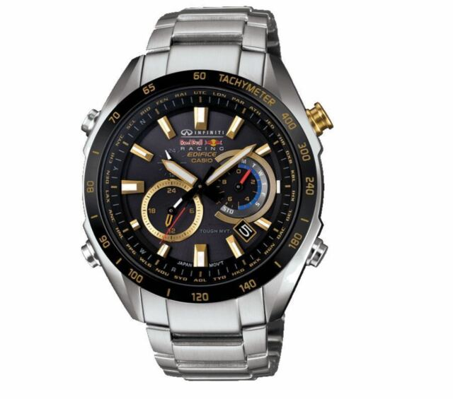 Casio Edifice Infiniti Red Bull Racing Eqw T620rb 1aer Solar Wave