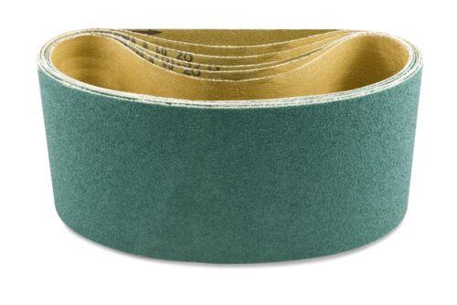 3 Pack 4 X 21 3//4 Inch 80 Grit Metal Grinding Zirconia Sanding Belts