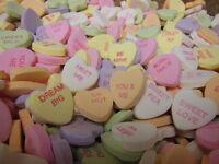 Valentine Necco Large Conversation Hearts 1 Lb