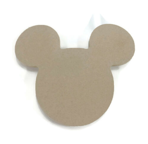 Micky and Minnie mouse Wooden Decoration Mdf Blanks