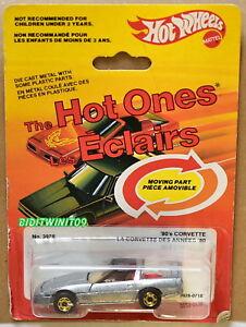 Hot Wheels 1982 Le Chaud Que ' 80's Corvette La Des Annees' 80 W