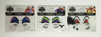 Disney Villains Jewel Eye Decals Self Stick Halloween Maleficent Ursula Cruella