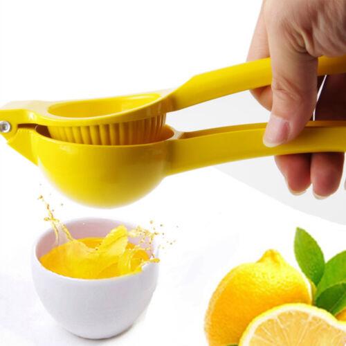 Zitronenpresse Zitrus Limette Entsafter Extractor Saft Handpresse Küche Zitronen