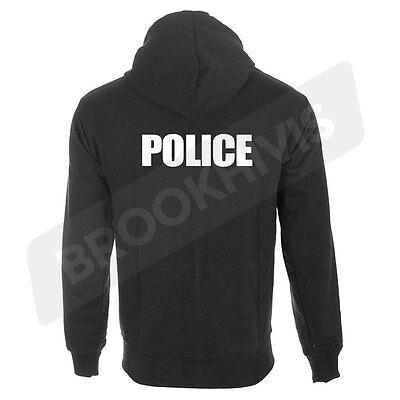 Diplomatisch Police Hoodie Hoody Top National Security Law Enforcement Work Wear Clothing