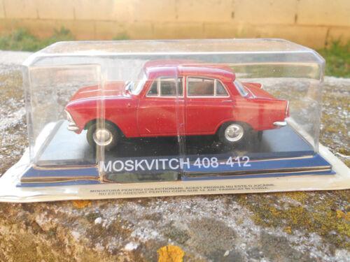 MOSKVITCH 408-412 SCALA 1//43