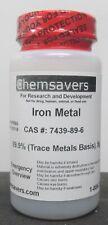 Iron Metal Powder 999 Trace Metals Basis 5g