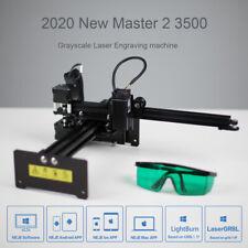Neje Master 2s 3500mw Cnc Laser Engraver Logo Marking Engraving Machine Diy Kit
