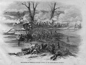 CIVIL WAR 1863 BATTLE AT VICKSBURG GALLANT CHARGE OF THE SIXTH MISSOURI REGIMENT