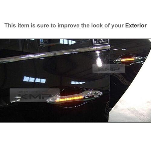LED Chrome Door Catch Handle Molding Cover for HYUNDAI 2007-2010 Elantra HD