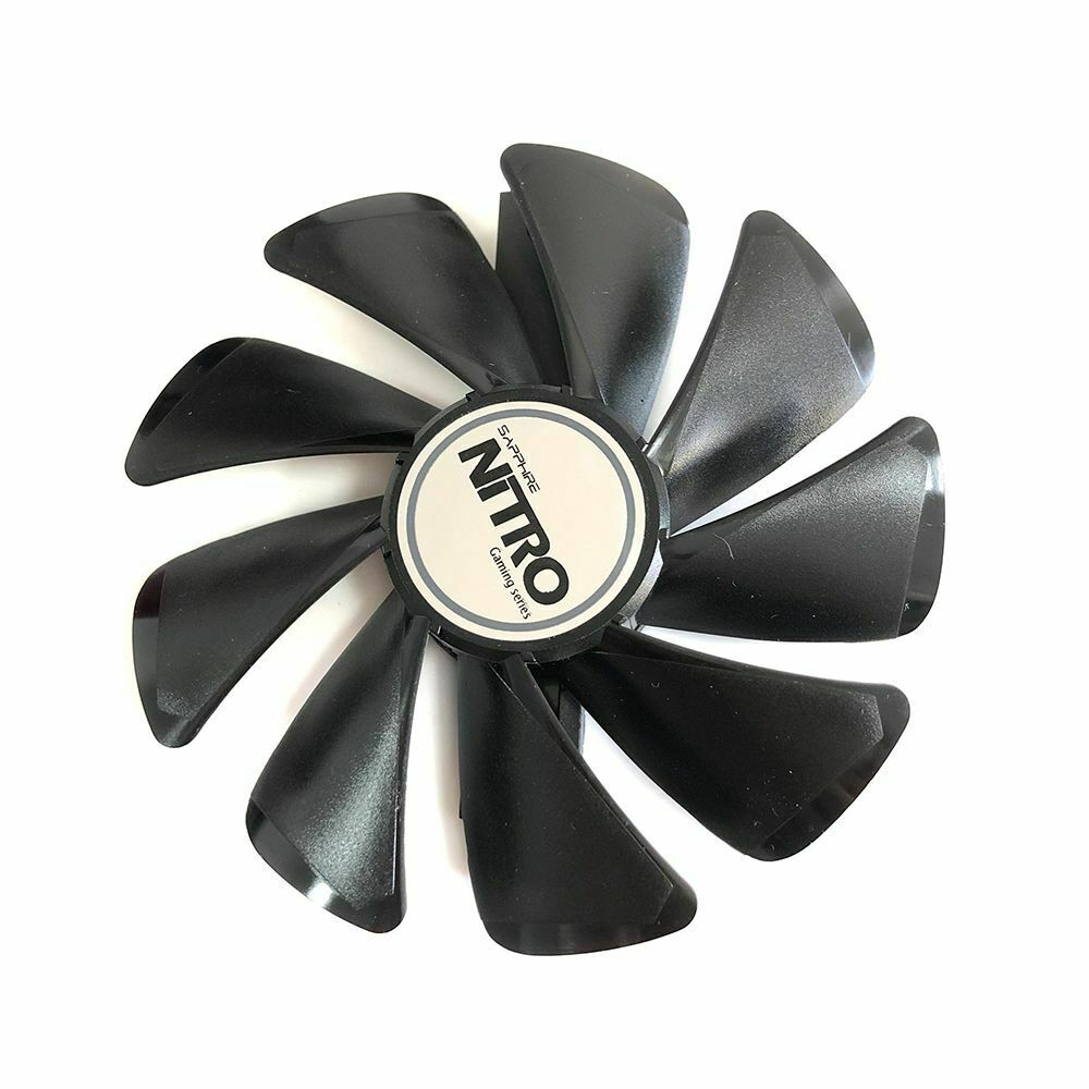 New Graphics Cooler Fan For Sapphire NITRO RX590 RX580 RX570 RX480 Card Cooling