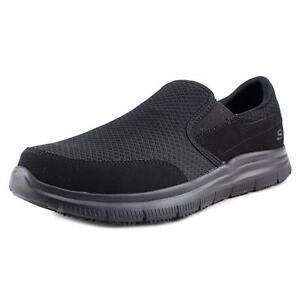 2285fc6a588 Skechers Men McAllen Black 77048 Memory Foam Slip Resistant Work Shoes 12.  +. $54.50Brand New. Free Shipping