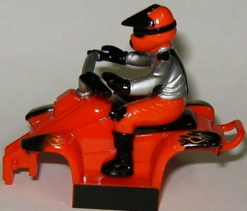 Life-Like Slot Car Red Quad ATV Body for T Chassis HO Cars New LifeLike